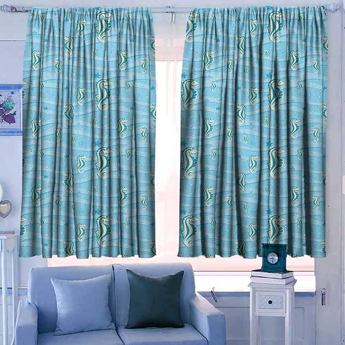 Home Decoration Thermal Insulated Curtains 55