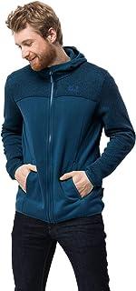 Jack Wolfskin Men's Elk Hooded Jacket Midweight Fleece Jacket