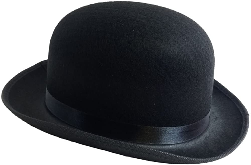 Black Derby Deluxe Portland Mall Finally resale start Costume Hat Funny Hats Party by