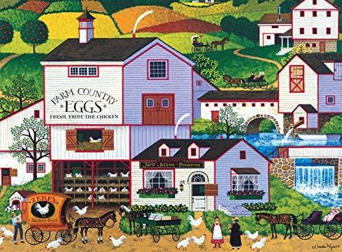 Buffalo Games Charles Wysocki Virginias Nest 1000 Piece Jigsaw Puzzle product image