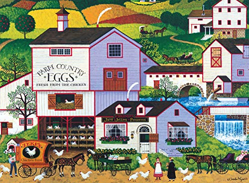 1,000-Pc Buffalo Games Charles Wysocki Virginia's Nest Jigsaw Puzzle $8.20 + Free Shipping w/ Amazon Prime or Orders $25+