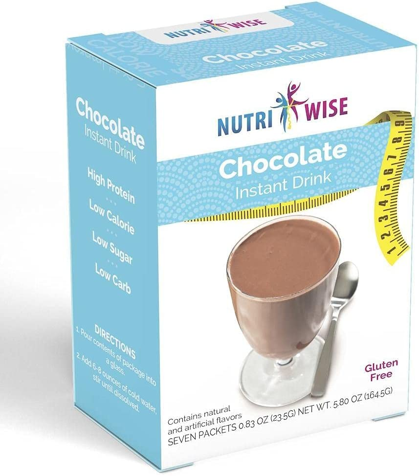 NutriWise - Chocolate Protein Box Drink Time 5 ☆ popular sale Diet 7