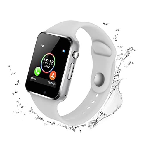 Bluetooth Smart Watch - WJPILIS Touch Screen Smart Wrist Watch Smartwatch Phone SIM Card Slot Camera