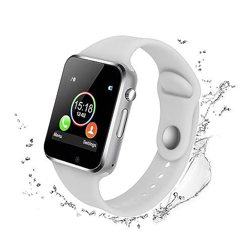 Bluetooth Smart Watch - WJPILIS Touch Screen Smart Wrist Watch Smartwatch Phone SIM Card Slot Camera