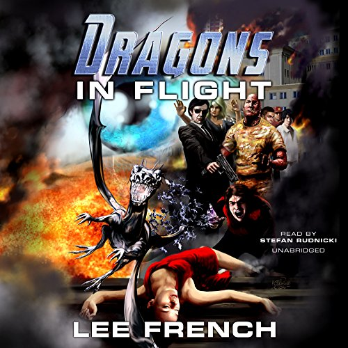 Dragons in Flight audiobook cover art