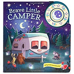 brave little camper book to bring camping with toddlers and keep them entertained