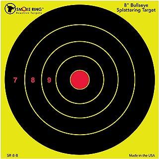 BIRCHWOOD CASEY Smoke Ring 8 Bullseye Reactive Splatter 100pk