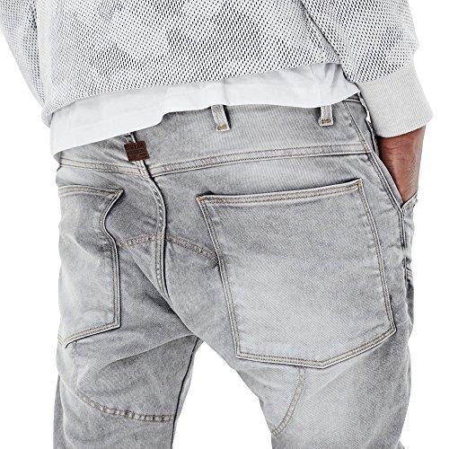 G-STAR RAW 5620 3D Zip Knee Super Slim, Blu (Lt Aged 424), 36W / 32L Uomo