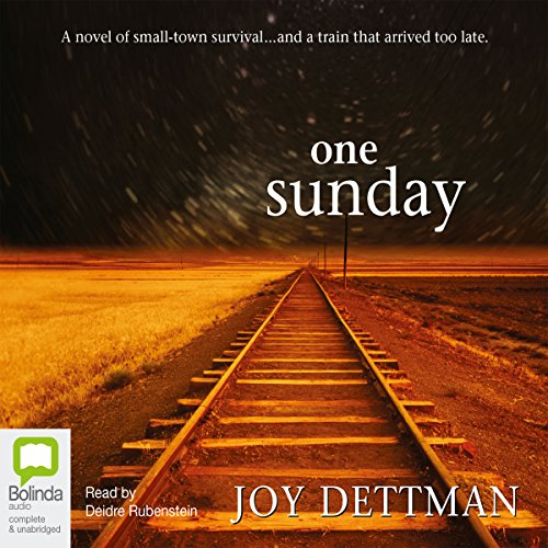 One Sunday audiobook cover art