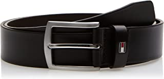Tommy Hilfiger Men's New Denton 3.5 Belt, Brown (TESTA DI MORO 965), 95 cm (Manufacturer size: 95)