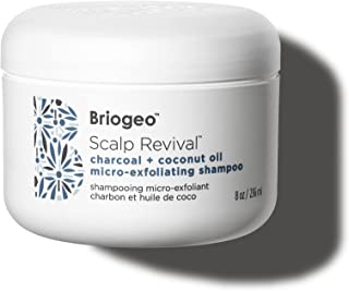 Briogeo - Scalp Revival Charcoal + Coconut Oil Micro-Exfoliating Shampoo - Combats and Prevents a Dry, Flaky, Itchy Scalp,...