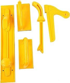 Säkerhetspaket för stickblock och stick, 5-delade träbearbetningsblock och stickor, perfekt för träarbetare och för använd...