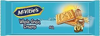 McVities Wholegrain Cream Biscuits Milk Flavour, 100 gm