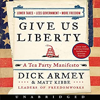 Give Us Liberty audiobook cover art