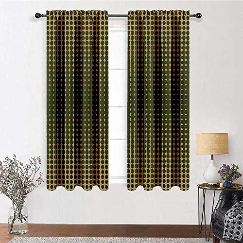 cortinas cortas para ventanas vintage
