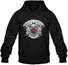 Signed And Sealed In Blood Rose Tattoo Sweatshirts Men's Black