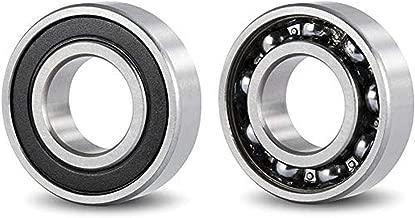 DOJA Industrial | Rodamiento de bolas 6200 2RS C3 | Cojinete para eje de 10mm | Exterior de 30mm | Ancho de 9mm | ALTA CALIDAD | Útiles para: Fresadora, Impresora 3D, Torno, Bricolaje, Skate.