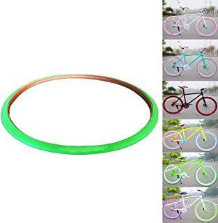 OLizee™ Fixed Gear Single Speed Fixie Road Track Bike 700X23C Colored Tires