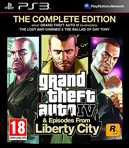 Take-Two Interactive Grand Theft Auto IV The Complete Edtion, PS3