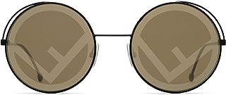 Fendi Women's 201999 Sunglasses, Color: Black, Size: 53