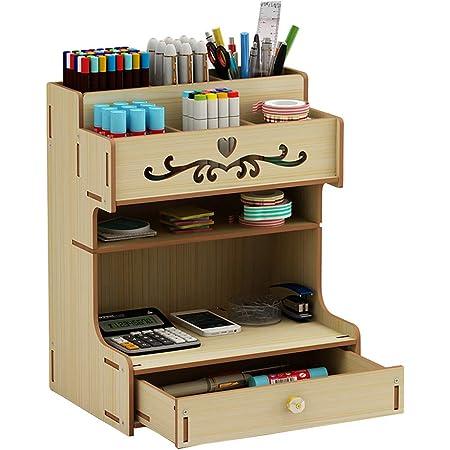 Fanville multifunzione Organizer da scrivania in metallo a rete per scrivania e ufficio