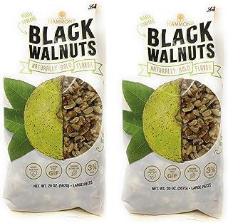 Hammons Walnuts- Pack of 2 - 20 oz Bags