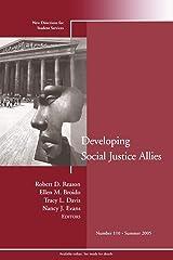 Develop Soc Justice Allies 110 Paperback