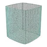 Wiesenfield Red para Heno Malla De Alimentación Caballos WIE-Net-1 (Resistente al desgarro hasta 1000 N, Dimensiones: 1,4 x 1,4 x 1,6 m, Entramado denso)
