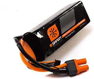 Spektrum Smart LiPo Battery Pack: 7000mAh 6S 22.2V 30C with IC5 Connector (EC5 Compatible)