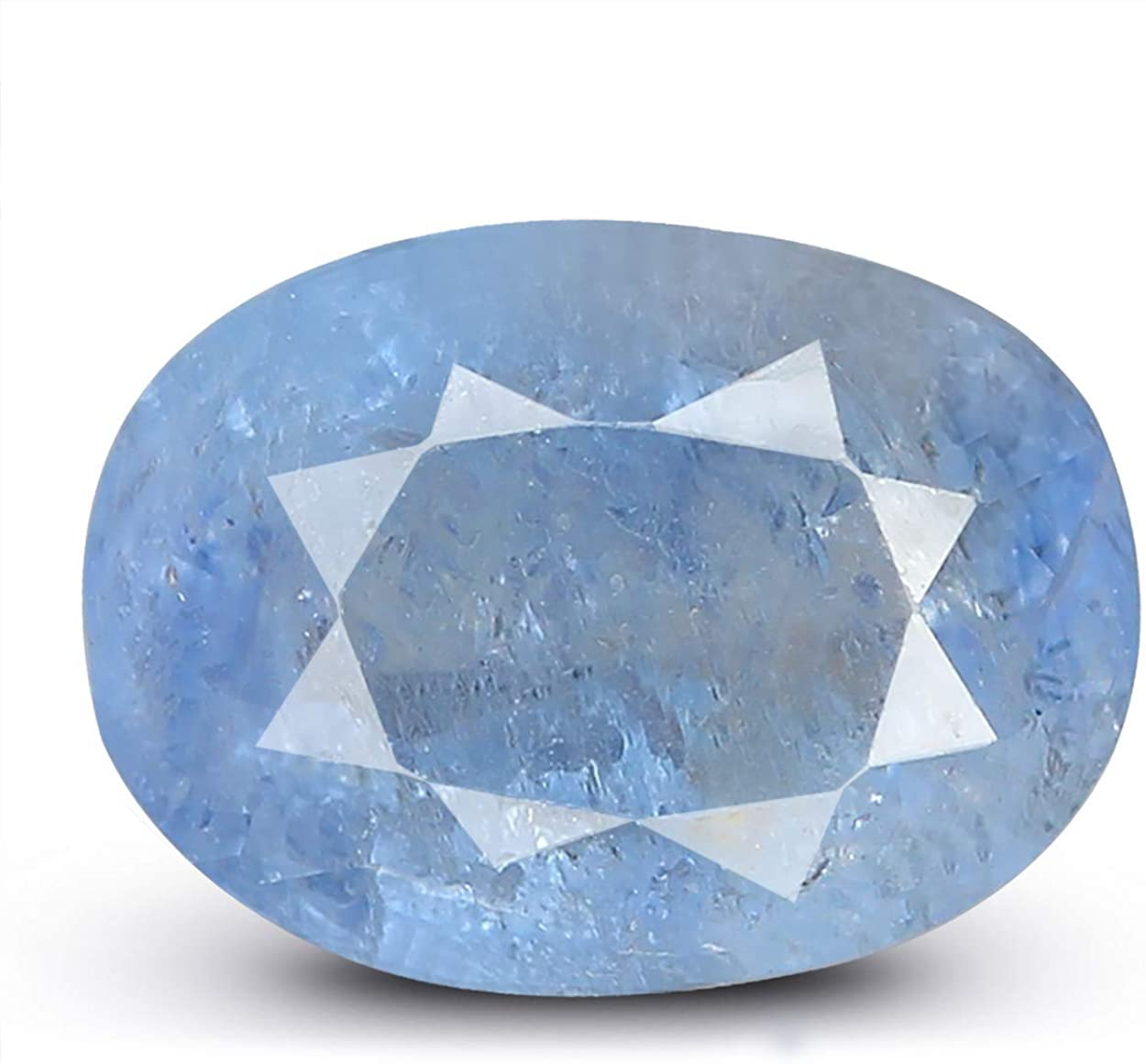 OFFicial LMDPRAJAPATIS 1 Carat Natural Lab Quality Certified Sapp Sales results No. A+ Blue