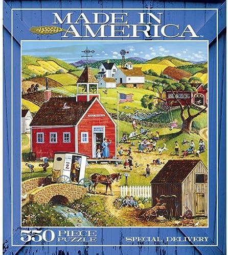 Ceaco Made in America 550 Piece Puzzle - Special Delivery