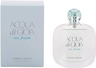 Giorgio Armani Aqua Di Gioia Eau Fraiche EDT Spray for Women, 1.7 Ounce