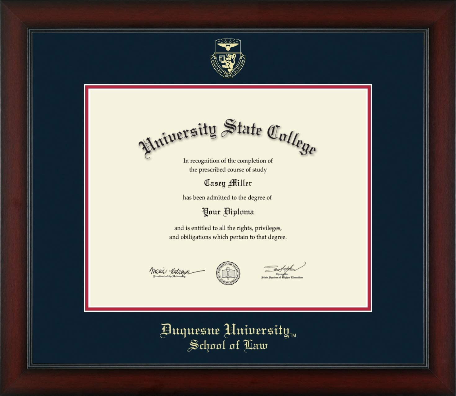 Duquesne University School of Law San Diego Mall - Ranking TOP9 Post-S Officially Licensed