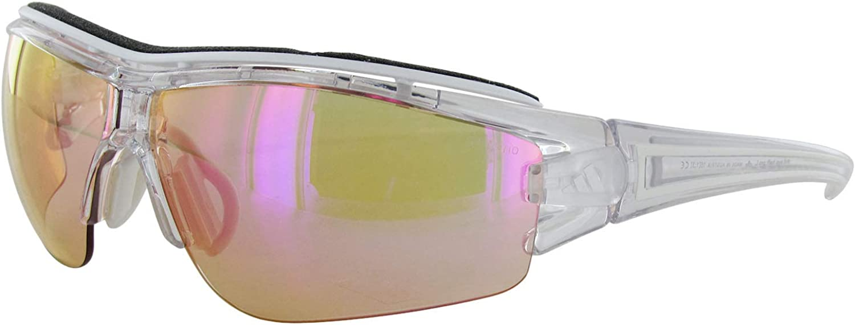 Amazon Com Sunglasses Adidas Evil Eye Halfr Proxs A 199 6097 Transparent Clothing