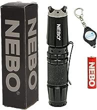 NEBO 5872 CSI Edge 90 Lumens Aluminum LED Flashlight 5872 with Lumintrail Key Chain Light