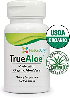 TrueAloe 100% Organic Aloe Vera Supplement