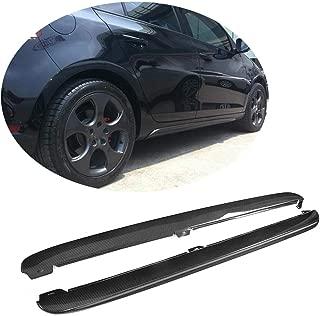 MCARCAR KIT Side Skirts fits Volkswagen VW Golf 6 VI MK6 GTI Hatchback 2010-2013 Add-on Carbon Fiber CF Under Door Rocker Panels Valance Extension Lip