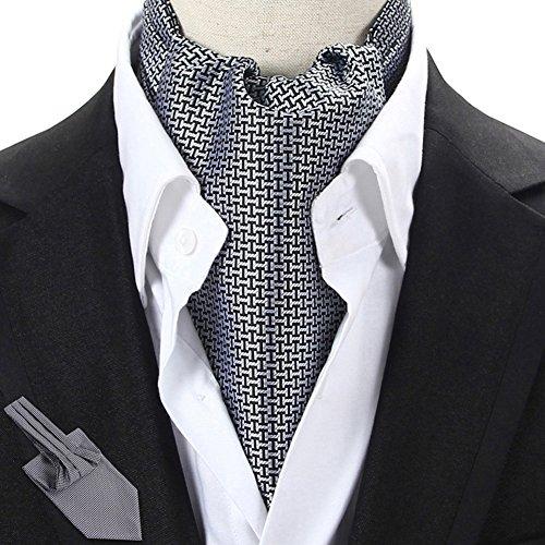 PENGFEI Krawattenschal Männer Drucken Geschäft Beidseitig Hemd Herbst Und Winter, 21 Farben Wahlweise, 15x115CM (Farbe : 10#)