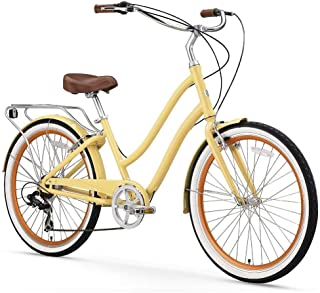 yellow city bikes