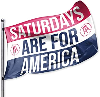 Saturdays are for America Flag, Barstool Sports, Perfect for Tailgating College Fraternities Weekend Sports