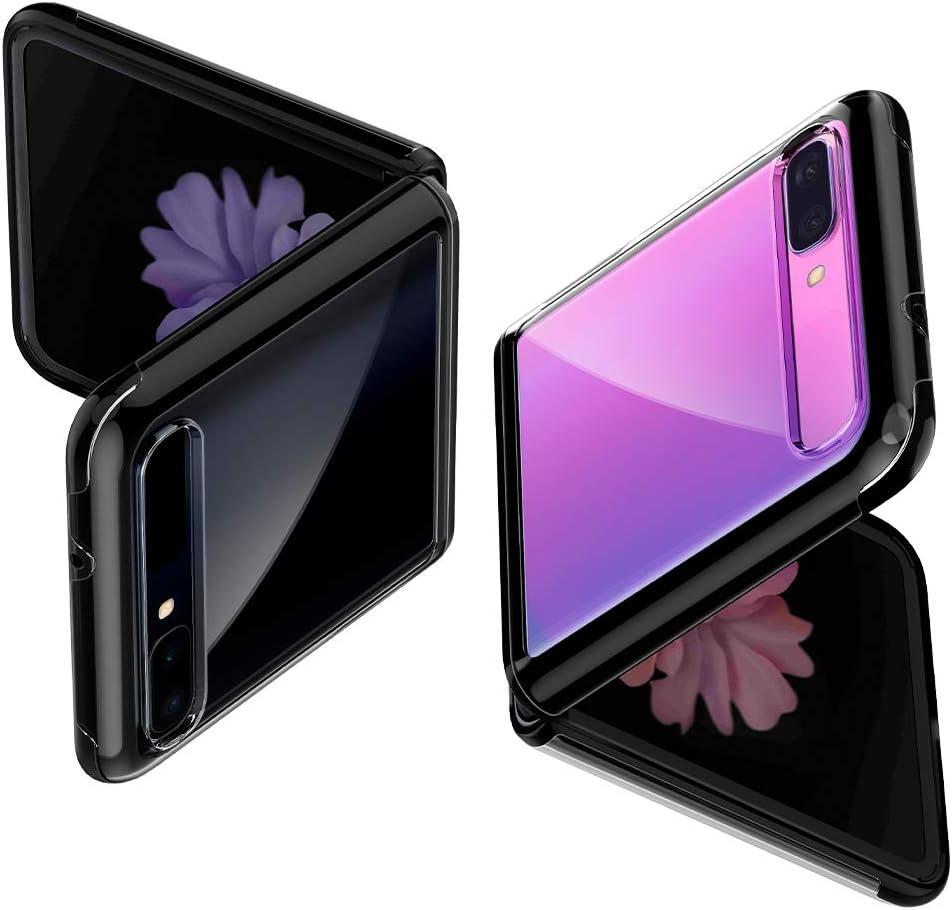 Spigen Ultra Hybrid Designed for Galaxy Z Flip Case (2020) - Midnight Black