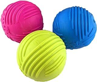 [シャンディニー] 犬用ボールおもちゃ 音が出る 犬 噛むおもちゃ 小型犬 ボール ゴム 丈夫 音 2個セット