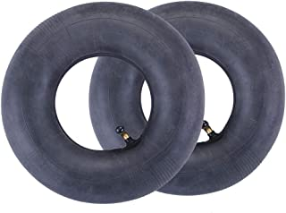 LotFancy 2 Packs of 2.80/2.50-4 Inner Tube for Hand Trucks, Utility Cart, Lawn Mowers, Wheelbarrows, Dollys, Scooters, Replacement 2.80-4 2.50-4 Tire Inner Tube with TR87 Bent Valve Stem