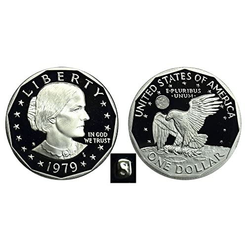 1980 PDS 1981 PDS Susan B 1979 PD Anthony  SBA Dollars mint cello 8 BU Coins