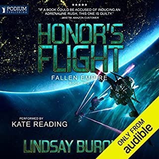 Honor's Flight audiobook cover art