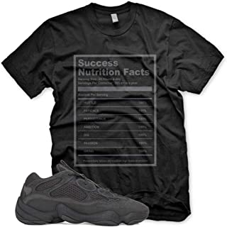New Success Facts T Shirt for Adidas Yeezy 500 UTILITY BLACK 350 V2