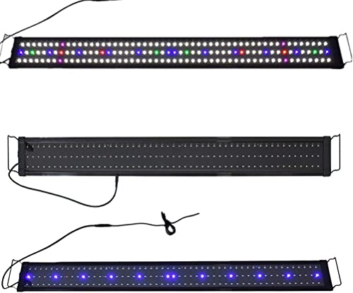 "discount Aquarium Full Spectrum popular Multi-Color LED Light 0.5W 156 online sale LED For 45-50"" Fish Tank sale"