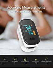 Fingertip Oxygen Activity Tester, OLED Display Body Condition Measurer, Fitness and Activity Monitor, Health Guidance Health Detector (Modern)