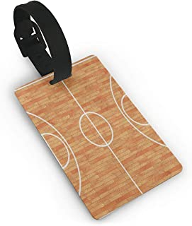 Luggage Tags Sport Lover Basketball Cool Travel Name Tag Holder Labels