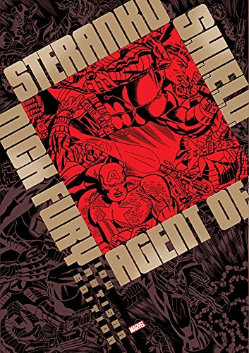 Steranko Nick Fury Agent of S.H.I.E.L.D. Artisan E